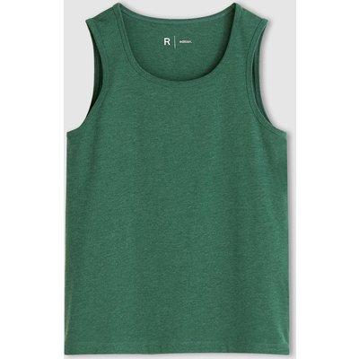 Cotton Jersey Plain Vest Top