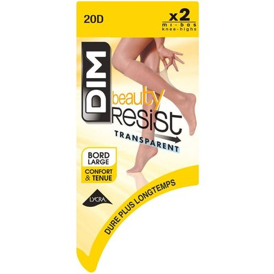 Ladder Resist Transparent 20 Denier Knee-Highs