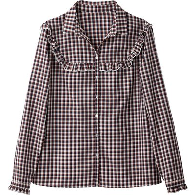Checked Cotton Mix Shirt