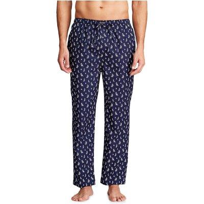 Printed Cotton Pyjama Bottoms - 3615739795454