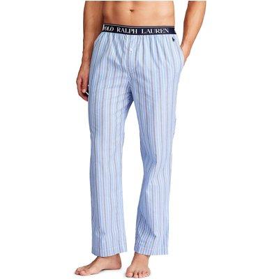 Polo Ralph Lauren Stripe Cotton Pyjama Bottoms  Blue - 3615739795331