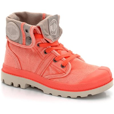 Baggy Kid Trainers with Two-Tone Cuffs