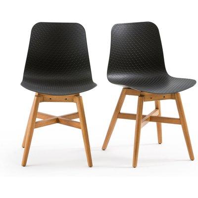 Set of 2 Ramajet Chairs, white;black