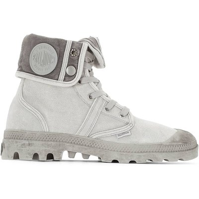 US Baggy WH Canvas Ankle Boots, light grey;beige;faded black