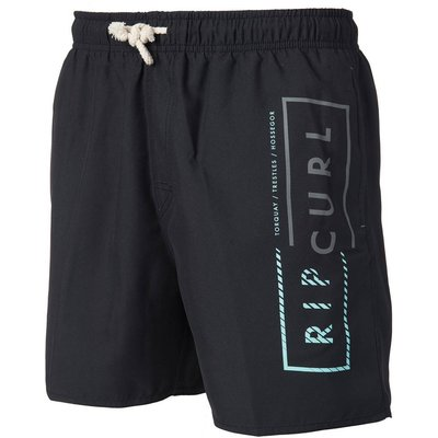 Printed Boardshorts, Black