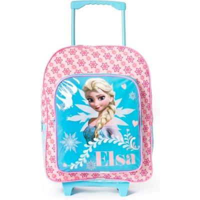 Frozen Wheeled Backpack, Blue