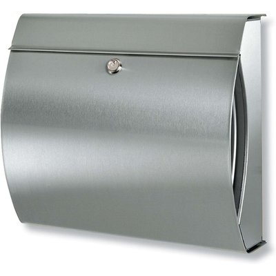 Fashionable stainless steel letter box Verona - 04003482325001