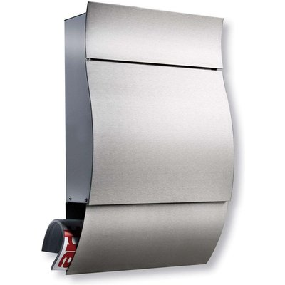 Opera   a comfortable stainless steel letter box - 04003482335000
