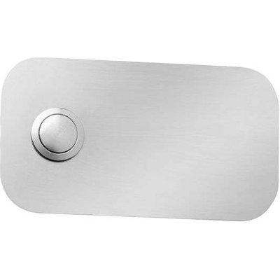Rectangular Stainless Steel Doorbell Coverplate - 04260045640616
