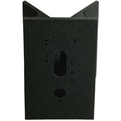 Corner block for outdoor wall lights  black - 04007235610062