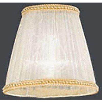 Stylish organza lampshade for chandelier Camilla - 09008447153359