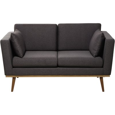 2-Seater Vintage Sofa in Grey Timeo