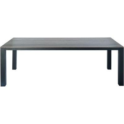 Anthracite Grey Garden Table 8/10-Seater in Aluminium W 230
