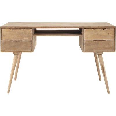 Greyed solid mango wood vintage desk W 130cm