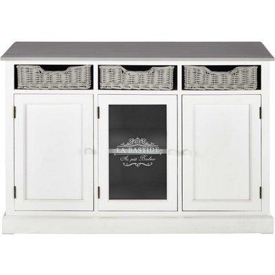 Paulownia White Sideboard