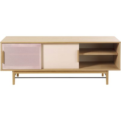 Pink-Beige 2-Door TV Unit Workshop