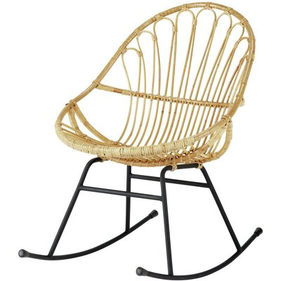 Rattan rocking chair Petunia
