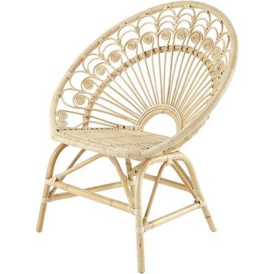 Rattan vintage armchair Peacock
