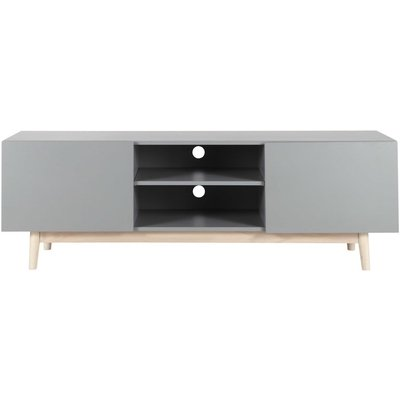 Scandinavian Grey TV Unit Artic