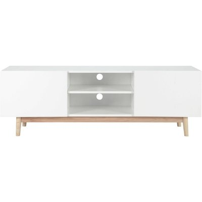Vintage TV Unit in White Artic