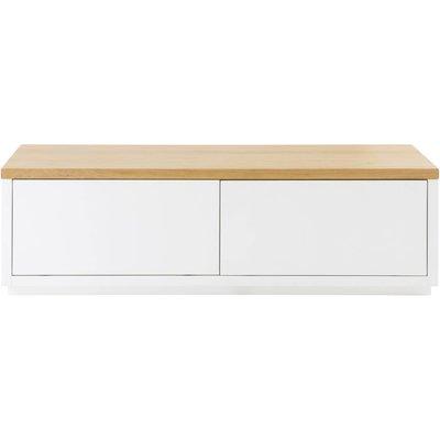 White 2-Door TV Cabinet W140 Austral