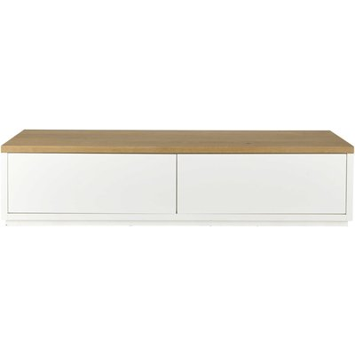 White 2-Door TV Unit W180 Austral