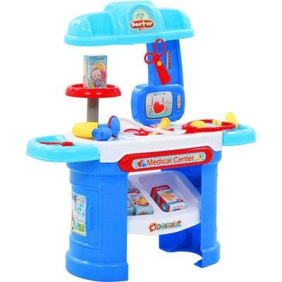 Zqyrlar - 15 Piece Kids' Pretend Doctor Play Set 38x30x67.5 cm - Multicolour