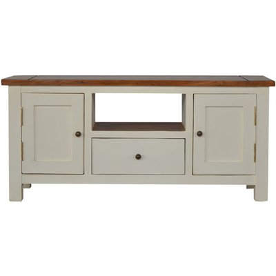 2 Toned TV Stand - ARTISAN FURNITURE