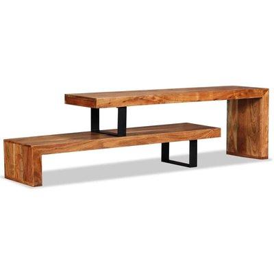 vidaXL TV Stand Solid Acacia Wood - Brown