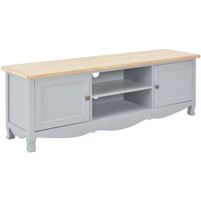 vidaXL TV Cabinet 120x30x40 cm Wood Grey - Grey