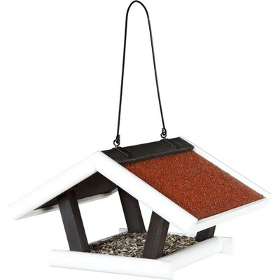 Hanging Bird Feeder Natura 30x18x28 cm Black and White 55804 - Trixie