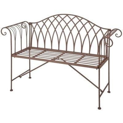 Garden Bench Metal Old English Style MF009 - Esschert Design
