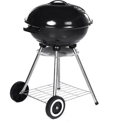 80CM Height Kettle Barbecue BBQ Grill Outdoor Charcoal Patio Cooking Round 80*47*41cm
