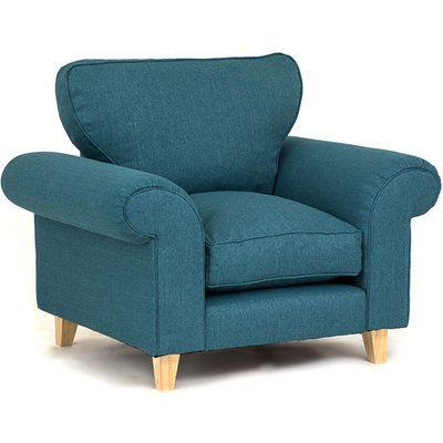Abakus Direct - Angie Armchair - Turquoise - color Turquoise