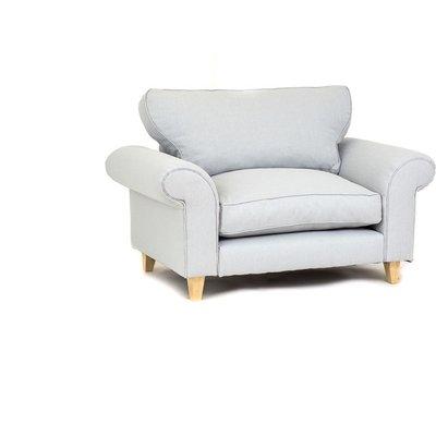 Angie Cuddle Chair - Pastel Blue - color Pastel Blue