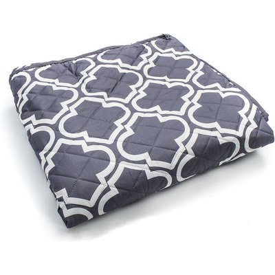 Mohoo - Animal Pet Blanket Protective Gray Non-Slip Sofa Cover With 3 Seater Strap