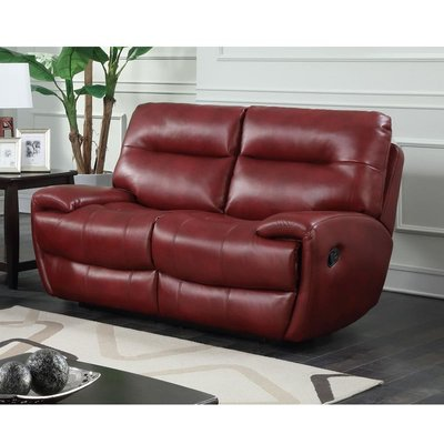 Designer Sofas 4 U - Bailey Recliner LeatherGel & PU 2 Seater