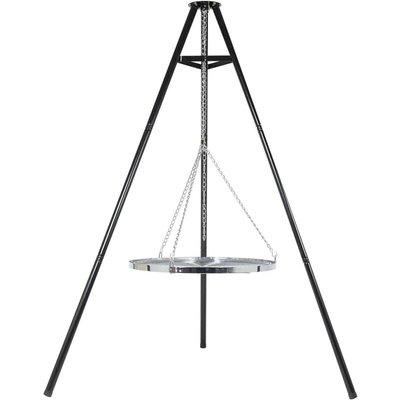 Tripod Grill Black 172 cm BBQ TRIPOD - Black - Bbgrill