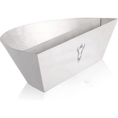 'Amarillo' stainless steel smoker insert for Ø 57 cm kettle grills - Bbq-toro