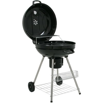 'Birch' kettle grill, charcoal BBQ grill cart, Ø 57 cm - Bbq-toro