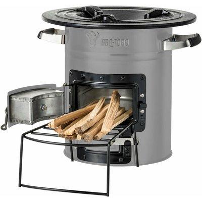 rocket oven RAKETE # 2, gray, Rocket Stove - Bbq-toro