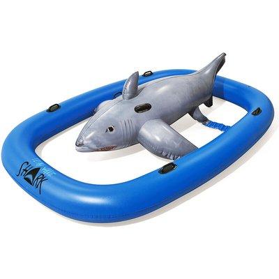 Bestway - Inflatable Shark Swimming Pool Float Toys Ride On Beach Kids Swim Aid Summer Fun