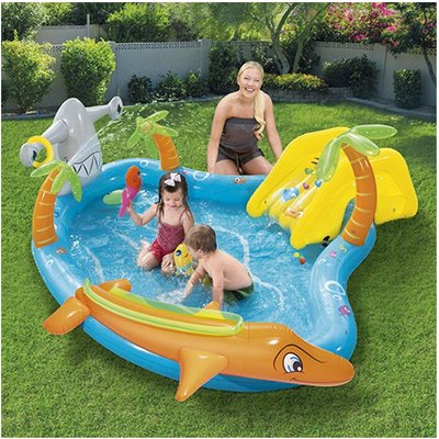 Bestway Sea Life Paddling Pool Play Centre