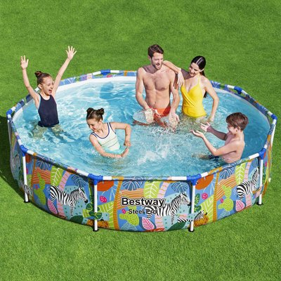 Bestway Swimming Pool Steel Pro Frame 305x66 cm