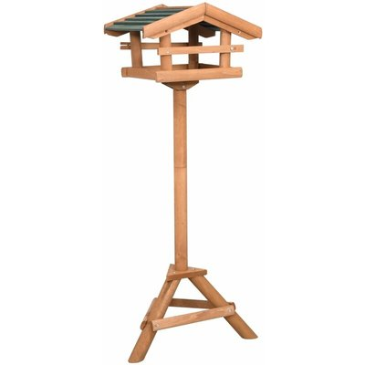 Bird Feeder with Stand Firwood - VIDAXL