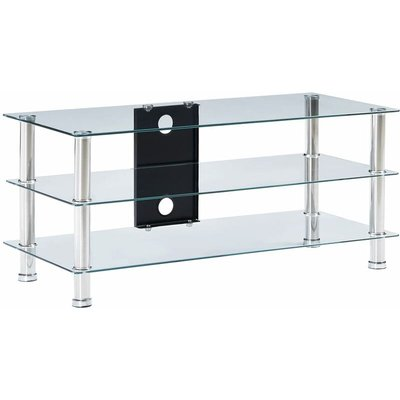Bramblett TV Stand for TVs up to 40' by Transparent - Ivy Bronx
