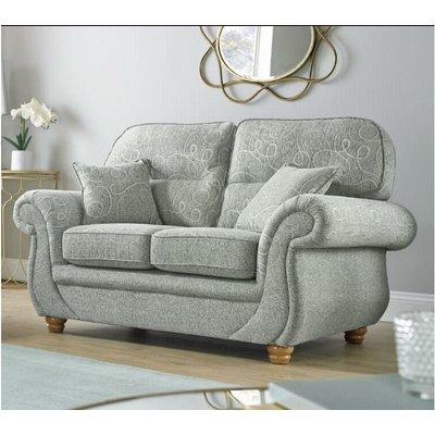 Buy 2 seat claremont fabric settee Bespoke furniture DesignerSofas4U - DESIGNER SOFAS 4 U