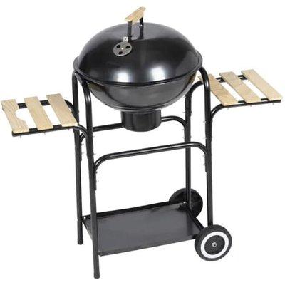 Charcoal Kettle Barbecue Louisiana - Black - Vidaxl