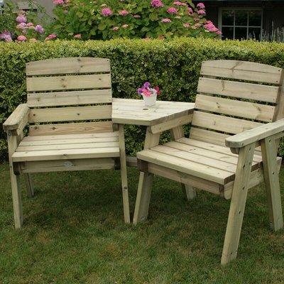 British Made Wooden Companion Seat - Natural Wood - Charles Bentley