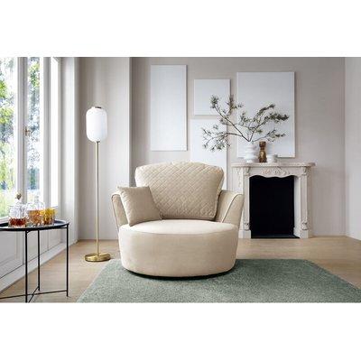 Chicago Swivel Chair - color Cream - ABAKUS DIRECT